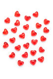 Jelly hearts Royalty Free Stock Photography