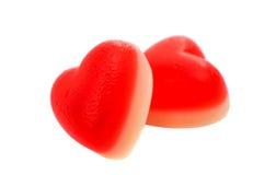 Jelly hearts Stock Photo