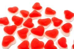 jelly hearts Royalty Free Stock Photo