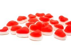jelly hearts Stock Image