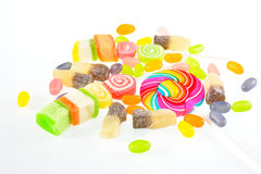 Jelly,Jelly candy Royalty Free Stock Images