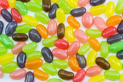 jelly kolorowa fasoli Obrazy Royalty Free