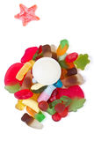 Jelly mixup Stock Images