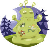 Jelly Monster Stock Images