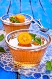 Jelly orange Stock Photos