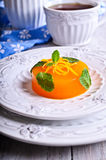 Jelly orange Royalty Free Stock Images