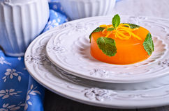 Jelly orange Royalty Free Stock Photography