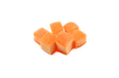 Jelly orange Royalty Free Stock Photo