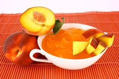 Jelly Peach Stock Photography