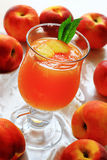 Jelly from peach fruits Royalty Free Stock Photo