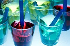 Free Jelly Shooters Royalty Free Stock Photography - 477897