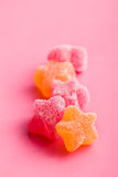 Jelly stars Stock Images