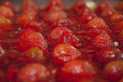 Jelly strawberries Royalty Free Stock Photography
