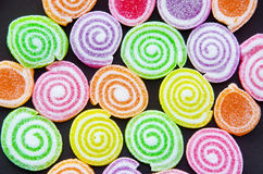 Jelly sugar candies Royalty Free Stock Photography