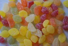 Jelly sweet. candy. snack. confectionery Royalty Free Stock Images