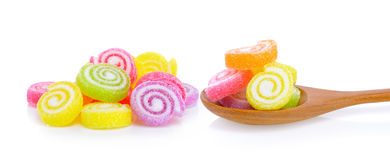 Jelly sweet, flavor fruit, candy dessert colorful Royalty Free Stock Photography