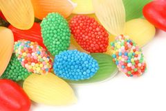 Jelly sweets Royalty Free Stock Image
