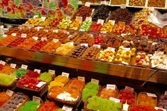 Jelly Sweets - Barcelone Espagne Images stock
