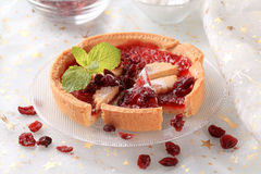 Jelly tart Royalty Free Stock Photography
