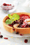 Jelly tart Stock Images