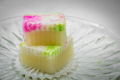 Jelly Thai sweet Stock Photos
