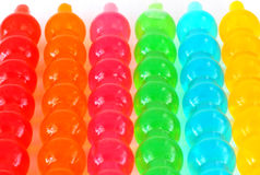 Jelly variety of colors. Royalty Free Stock Photos