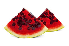 Jelly watermelon Royalty Free Stock Photo