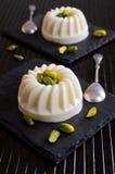 Jelly white Stock Photo