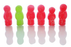 Jellybaby Team Royalty Free Stock Image