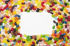 Jellybean frame Stock Photo