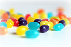 jellybeanregnbåge royaltyfri bild