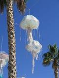 Jellyfish lanterns Royalty Free Stock Photography