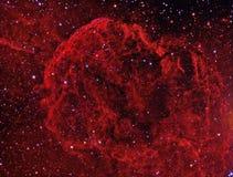JellyFish Nebula. Galactic supernova remnant astronomy telescope nebula star royalty free stock image