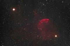 Jellyfish Nebula stock image