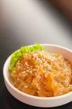 Jellyfish sałatka Zdjęcie Stock