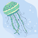Jellyfish in the sea Royalty Free Stock Photography