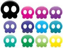 Jellyfish Skulls Stock Photo