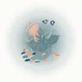 Jellyfish w akwarium Fotografia Stock