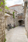 Jelsa miasteczko, Hvar wyspa, Chorwacja Fotografia Royalty Free