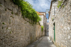 Jelsa miasteczko, Hvar wyspa, Chorwacja Obraz Stock