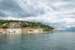 Jelsa miasteczko, Hvar wyspa, Chorwacja Obrazy Stock