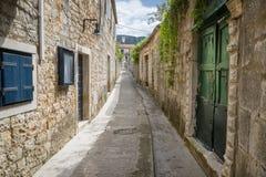 Jelsa miasteczko, Hvar wyspa, Chorwacja Zdjęcie Stock