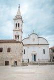 Jelsa miasteczko, Hvar wyspa, Chorwacja Zdjęcia Stock