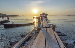 Jelutong Jetty Stock Photography