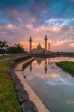 Jelutong meczet podczas wschodu słońca obraz royalty free