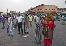 Jema el Fna Square Stock Photo