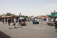 Jema el Fna Square Stock Image