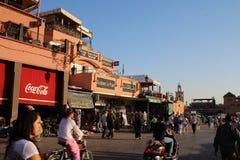Jemaa el fna square Stock Photo