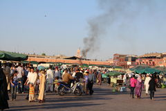 Jemaa el fna square Stock Photos
