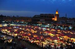 Jemaa El Fna square Stock Image